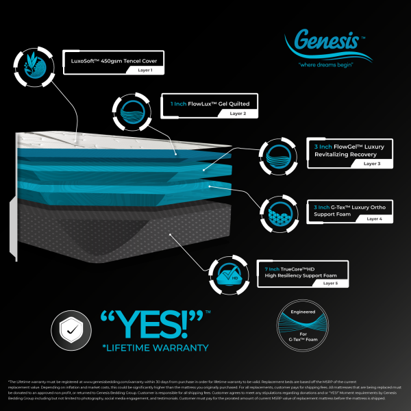 genesis l series 14inch infograph