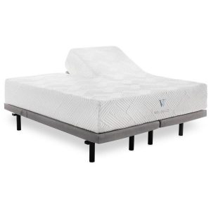 split bed 14 gel foam mattress