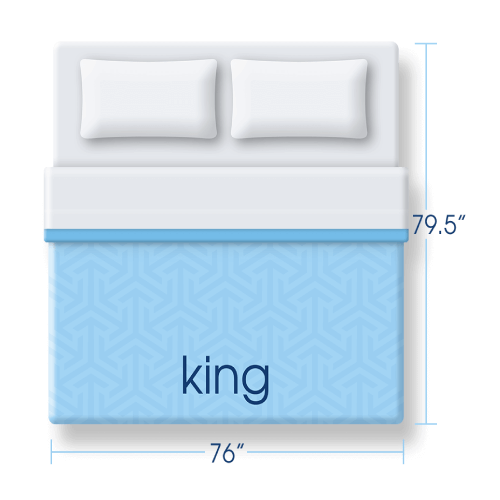 King size mattress icon