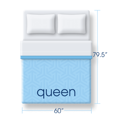Queen size mattress icon