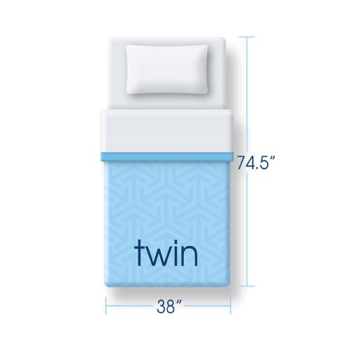 twin size mattress icon